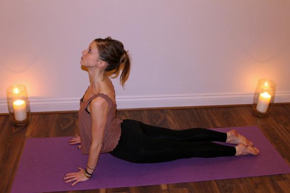 Holiday Yoga Wrap  Marks