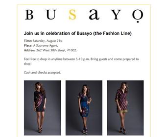Busayo