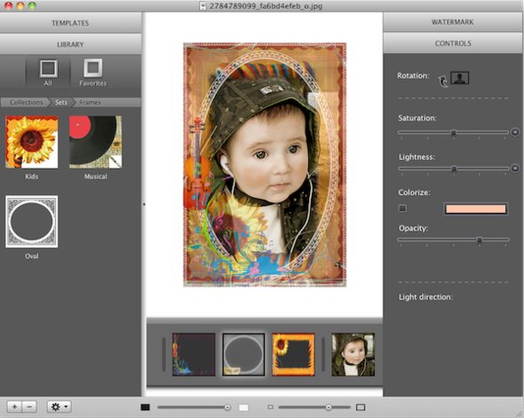 ImageFramer 3 screenshot