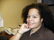 me at desk
