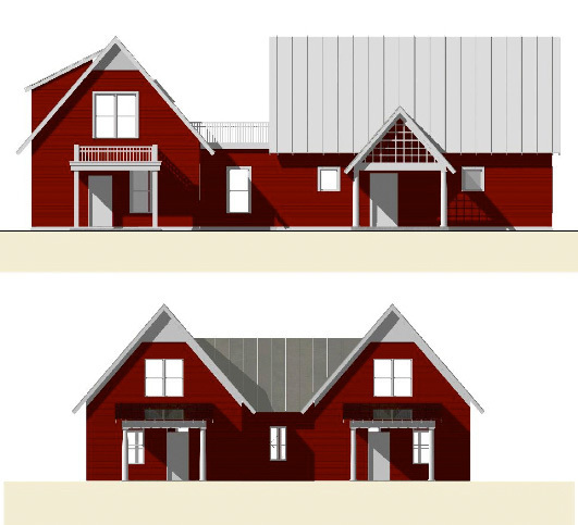2 elevations