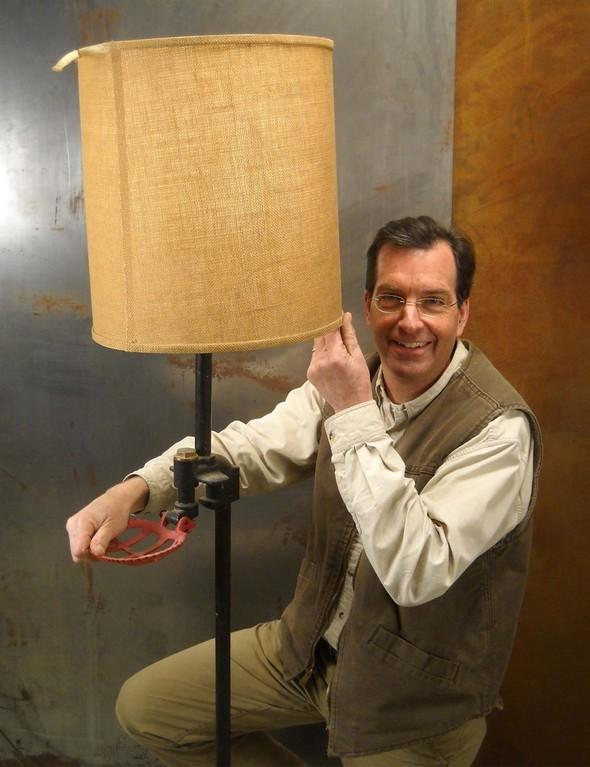 Steve Cow Lamp
