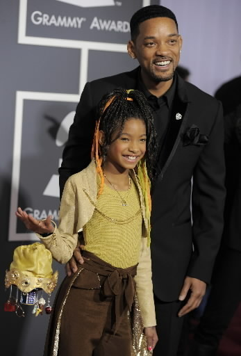will-smith-and-willow-smith-grammy-2011-ap