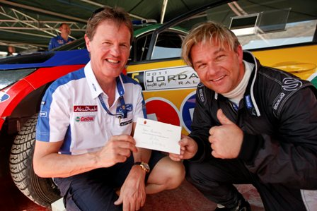 Henning Solberg and Malcolm Wilson