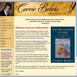 carriebebris site