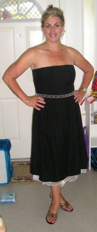 Tracy 42 pounds lighter