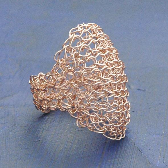 anna geometric rose gold 1