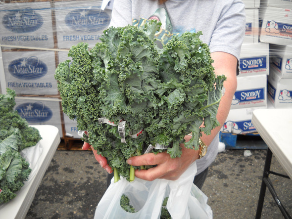 Fortuna Peoples Produce Market Kale
