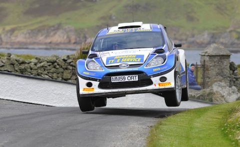 Alastair Fisher Donegal Rally action image
