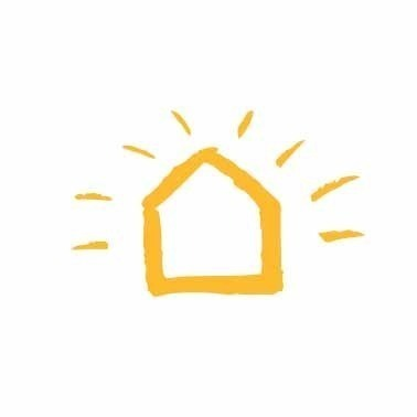 yellowhouse logo house colorweb