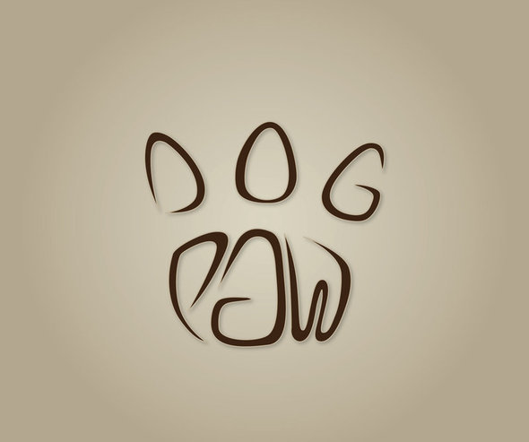 DOG PAW logo by lonuska