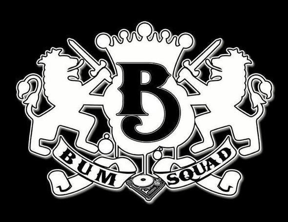 Bumsquad Logo black