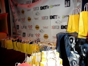 lux lounge BET celebrity gifting suite