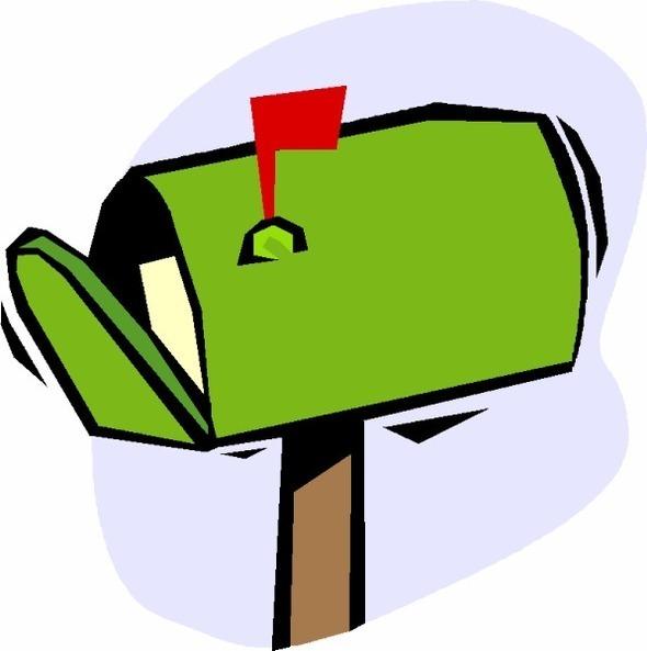 mail-box-green