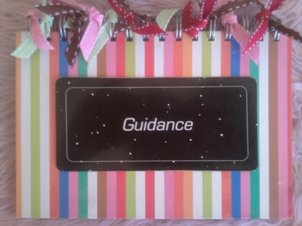 Guidance Card