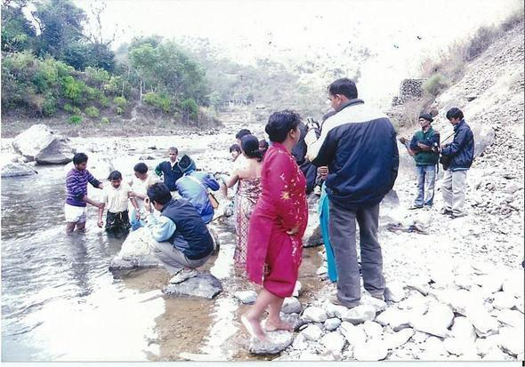 Nepal baptism