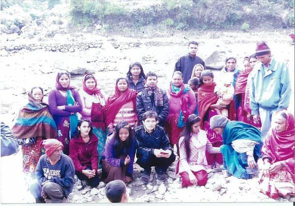 Nepal congregation