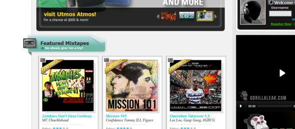 Featured Placement on Dat Piff.com