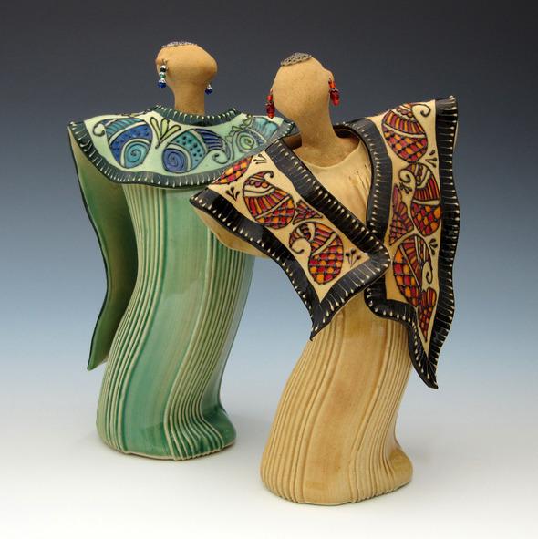 Charan Sachar Dancing Diva Sculpture