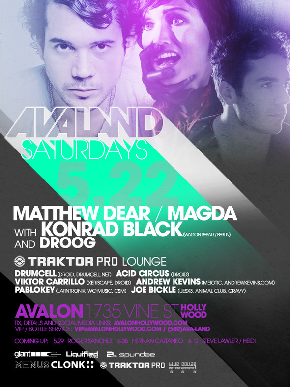 AVALON MAY 22