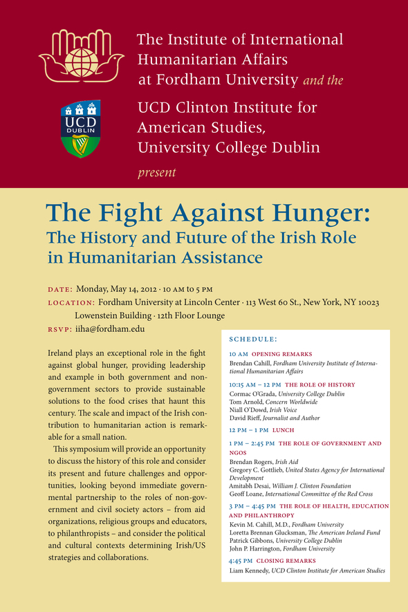 The Fight Against Hunger May 14