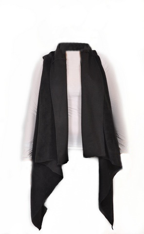 Fleece Wrap Vest