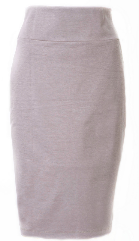 Long Pencil Skirt heavyweight 1451