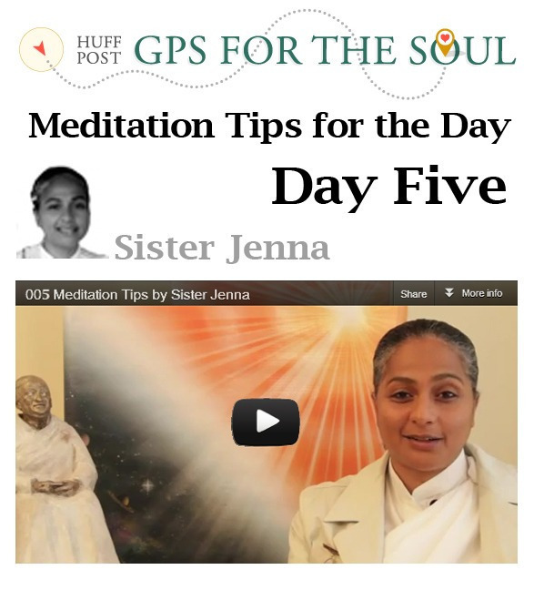 Meditation Tips for the Day -5