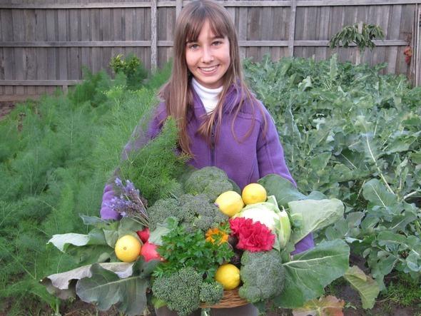 Beatrice and veggies melbourne 002