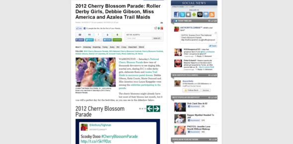 2012 Cherry Blossom Parade