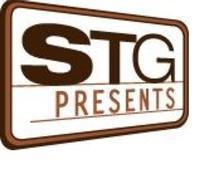 STG presents logo