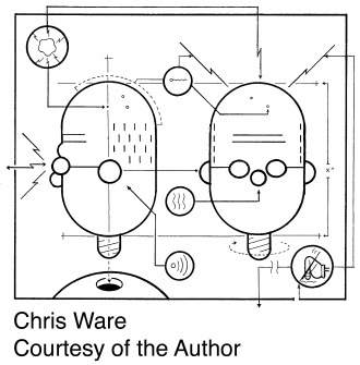 Ware, Chris courtesy of Chris Ware
