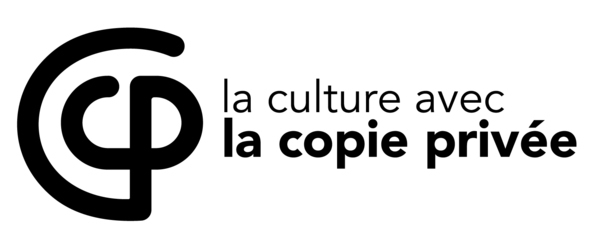 logo copie privee noir