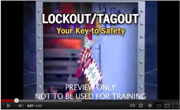 Lockout Tagout  Your Key to Safety - OSHA Safety Training Video - YouTube
