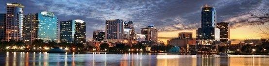 Orlando Florida Skyline   Flickr - Photo Sharing!