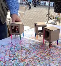 Cardboard Drawing Robots