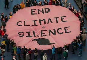 350 end climate silnce