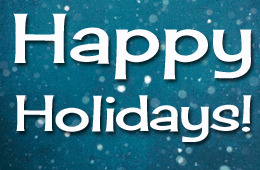 happy holidays enews