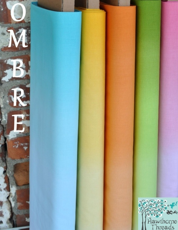 Ombre solids poster
