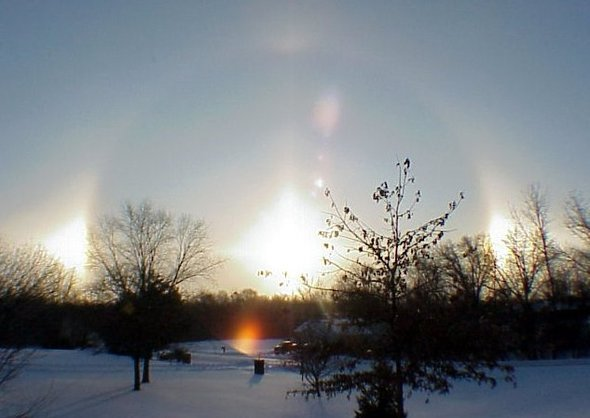 December sundog - NOAA