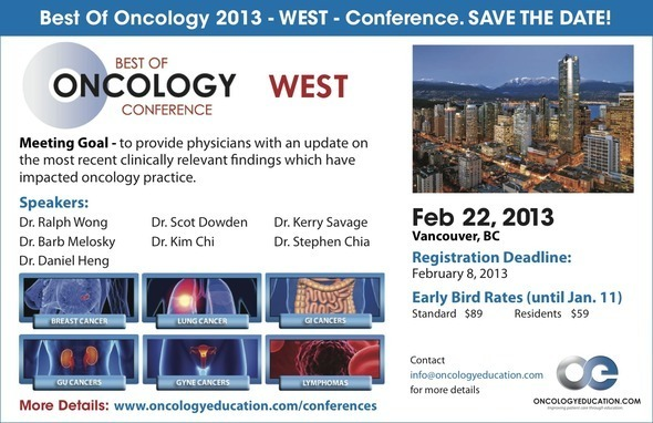 Best of Oncology West ad