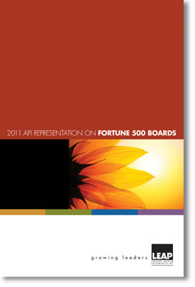 2011 LEAP FORTUNE500 Cover