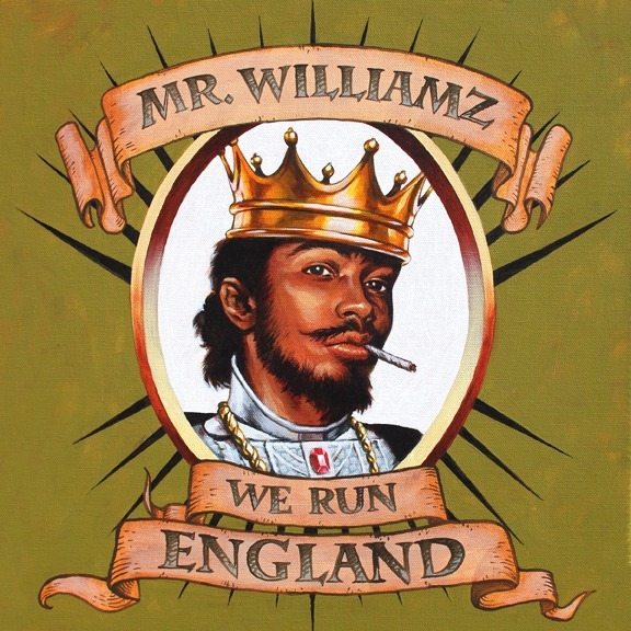 Mr Williamz - We Run England cover-web