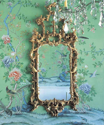 1. chinoiserie wallpaper