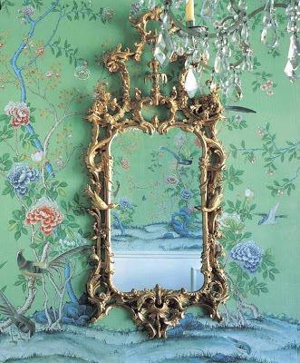 1. chinoiserie wallpaper