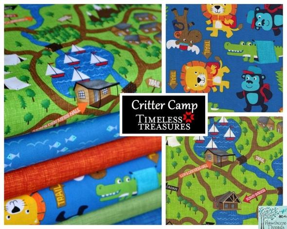 Critter Camp Poster