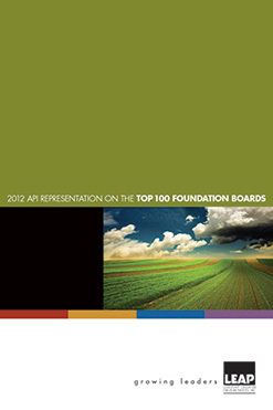 2012 LEAP Foundation cover-smaller