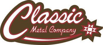 classic metal logo small