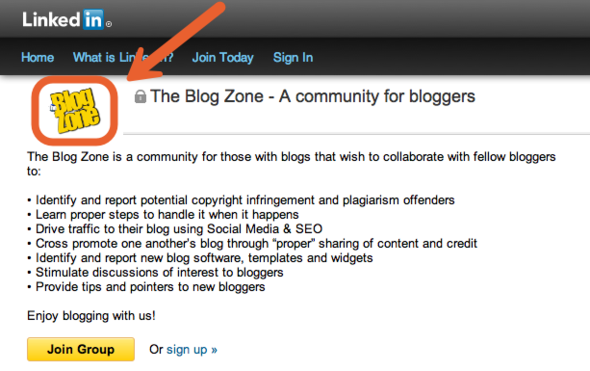 Blog Zone Screenshot