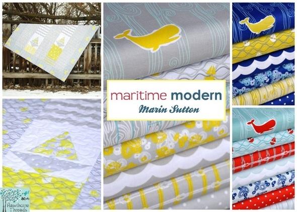 Maritime Modern Poster